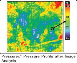 Sensor film reveals distribution, magnitude of pressure between two contacting surfaces - TheFabricator
